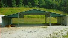 32x21 All-Steel  Metal Carport, Garage  INSTALLED  - NO GABLES -