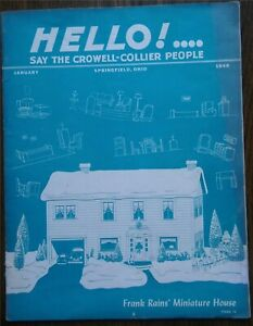 Rare-Springfield-Ohio-1948-Crowell-Collier-Employee-Magazine-55-Photos-31-Pages