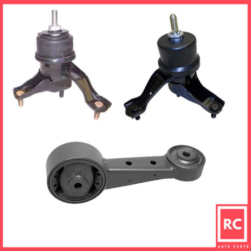 2007-2012 for Toyota Camry Avalon 3.5L for Auto Engine Motor /& Trans Mount 3PCS