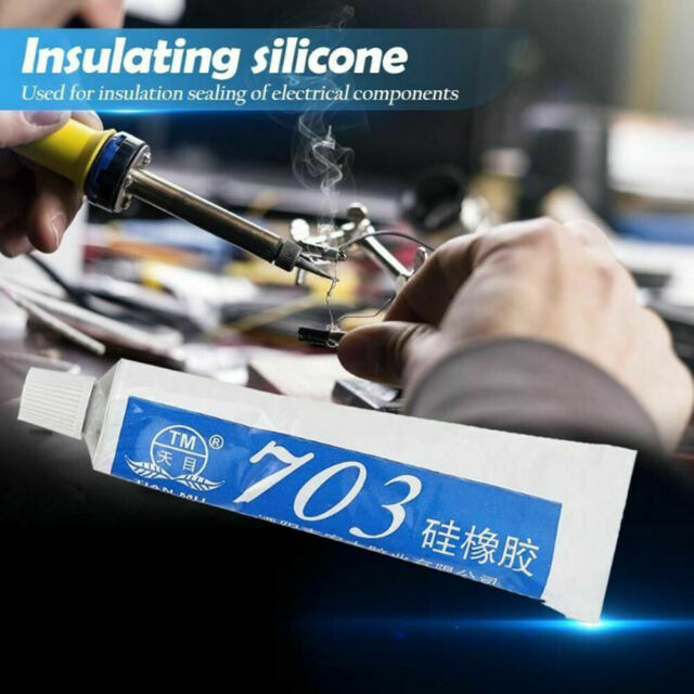 HighTemperature Resistant Rubber Sealant Silicone Rubber Sealing Glue Adhesive l