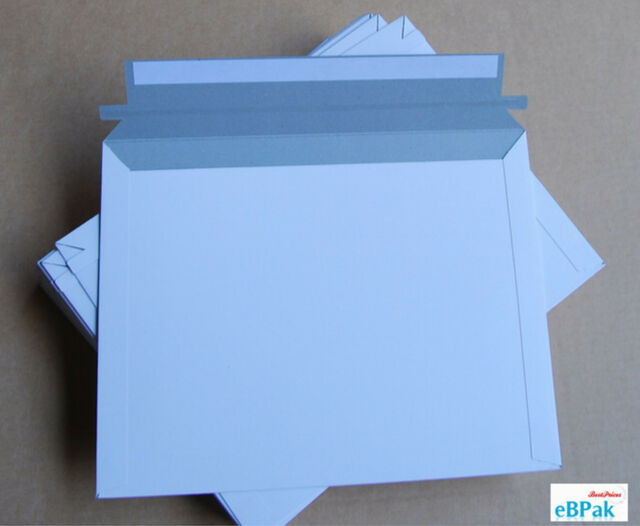 100x Card Mailer  255x355mm B4 300gsm Envelope Tough Bag Replacement