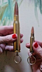 50-Caliber-Bullet-Keyring-50-CAL-BMG-KeyChain-FREE-308-Winchester-Keyring