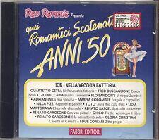 Quei Romantici Scatenati Anni '50 10B - QUARTETTO CETRA FLO SANDON'S BECCARIA CD