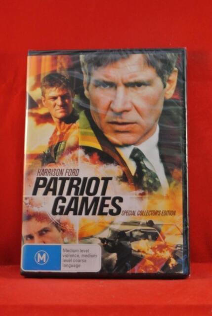 NEW - Patriot Games - Harrison Ford - DVD - Region 4