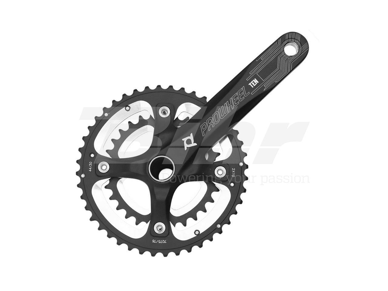 CRANKSET CHAINRING 15402 PROWHEEL 40 28 CRANK ARM 175 MM BIKE MTB BICYCLE