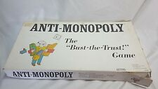 Anti-Monopoly The Bust-the-Trust Board Game 1973/Ralph Anspach
