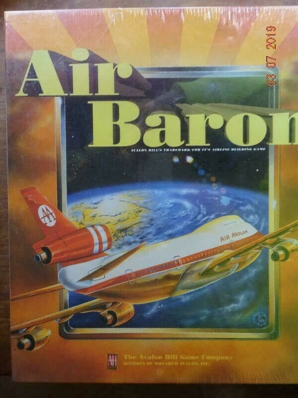 Air Baron, Strategy spel, Avalon Hill, 1996, NEW in Shrink -wrap