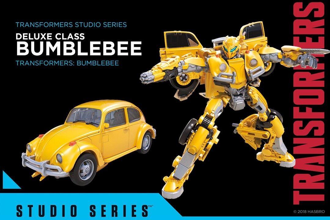 Hasbro Transformers Studio Series Deluxe Movie Bumblebee  18 Action Figure Fast