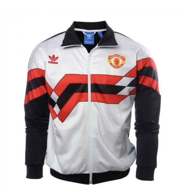 Adidas Originals Manchester United Track Jacket Brand New Men's L