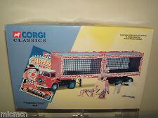 CORGI CLASSIC'S MODEL No11201 ERF ARTIC,CAGES,LIONS,TIGERS & TRAINER   MIB