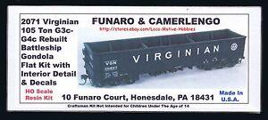 LMH-Funaro-F-amp-C-2071-VIRGINIAN-BATTLESHIP-Gondola-VGN-105-Ton-G3c-G4c-w-INTERIOR