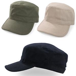 Military-Hat-Cap-Army-Cadet-Men-Women-Casual-BASEBALL-Size-Adjustable-Strap