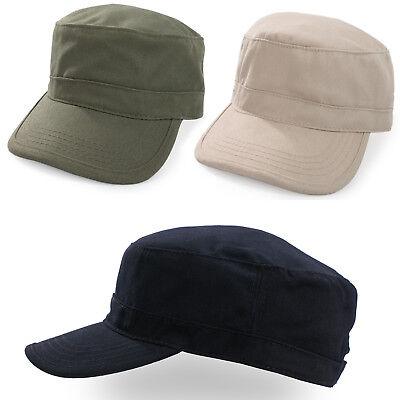 Military Hat Cap Esercito Cadetto Uomini Donne Casual Baseball Taglia Cinturino Regolabile-mostra Il Titolo Originale