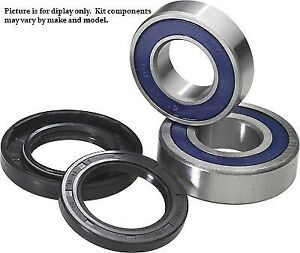 Wheel Bearing and Seal Kit For 2002 Yamaha YFM400 Big Bear 2x4~All Balls 25-1139