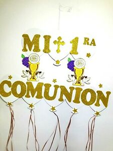 First-communion-foam-Wall-decorations-for-boy-Or-Girl-Decorations-De-Comunion