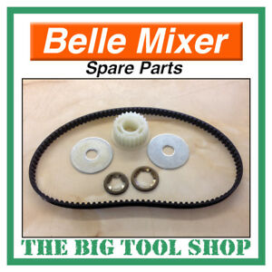 BELLE DRIVE BELT /& PULLEY KIT FOR MINIMIX 150 ELECTRIC MOTOR MIXER