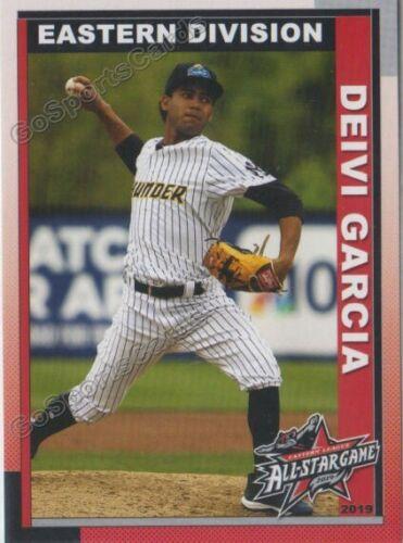 2019 Eastern League All Star East Deivi Garcia RC Rookie Yankees