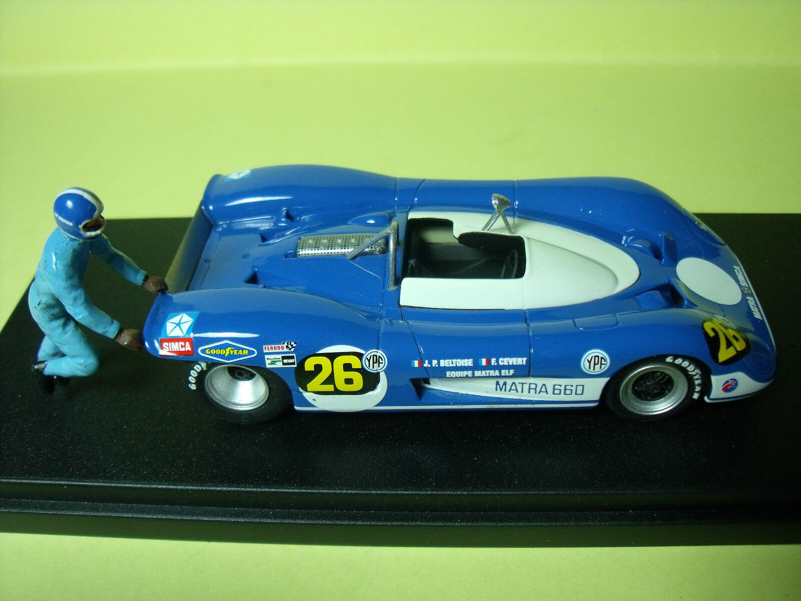 MATRA  660  BUENOS AIRES  71 VROOM  UNPAINTED  KIT  A  MONTER  1 43  NO SPARK