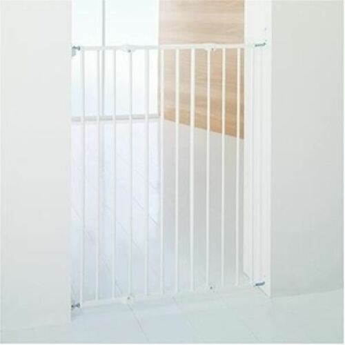BabyDan Extra Tall Safety Gate Screw Fitted Streamline Baby Stair Gate 64-107cm