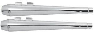 SLIP-ON MEGAPHONE MUFFLERS FOR HARLEY DAVIDSON DRESSER MODELS 1995-LATER