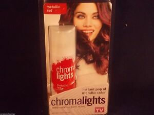 CHROMA-LIGHTS-Temporary-Hair-Color-Spray-INSTANT-POP-of-METALLIC-COLOR-RED