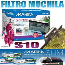FILTRO DE MOCHILA PARA ACUARIO MARINA SLIM S10 FILTROS CASCADA DE ACUARIO PECERA