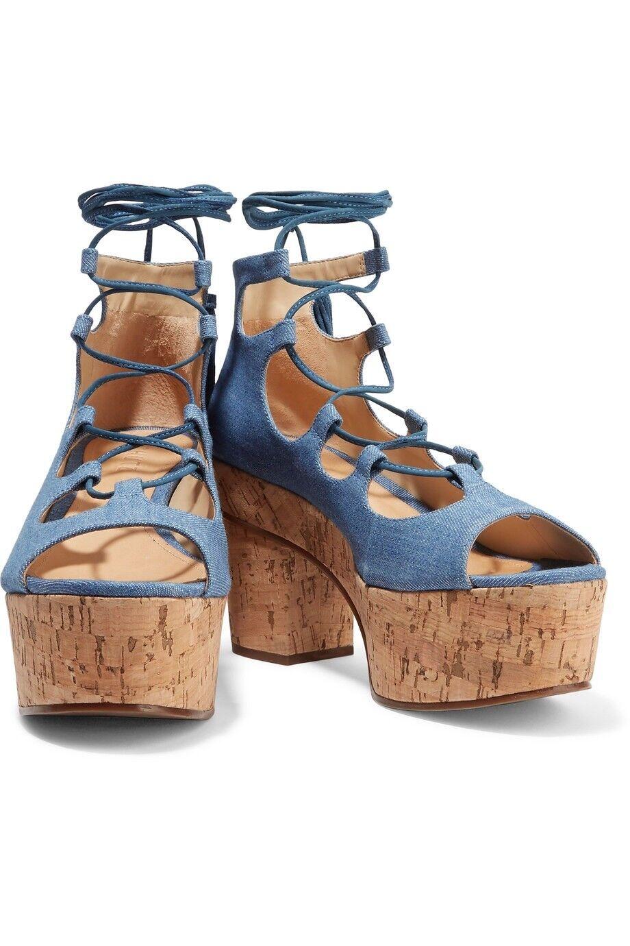 promozioni di sconto NEW Schutz Miniviola Platform Sandals. Sandals. Sandals. 8.5  Garanzia di vestibilità al 100%
