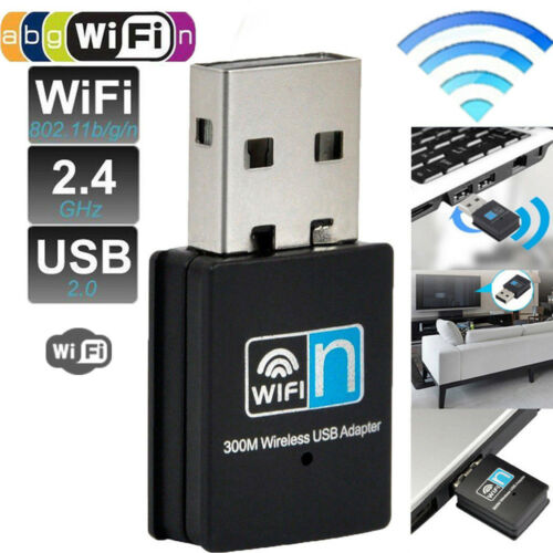 300Mbps Mini Wireless USB Wi-fi Adapter 802.11 b//g//n 300M Wifi Dongle