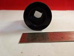 ANTIQUE-POLARIZER-CRYSTAL-MOUNTED-LENS-POL-MICROSCOPE-PART-OPTICS-AS-IS-amp-4B-A-17