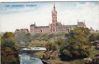 Postcard - Glasgow - The University