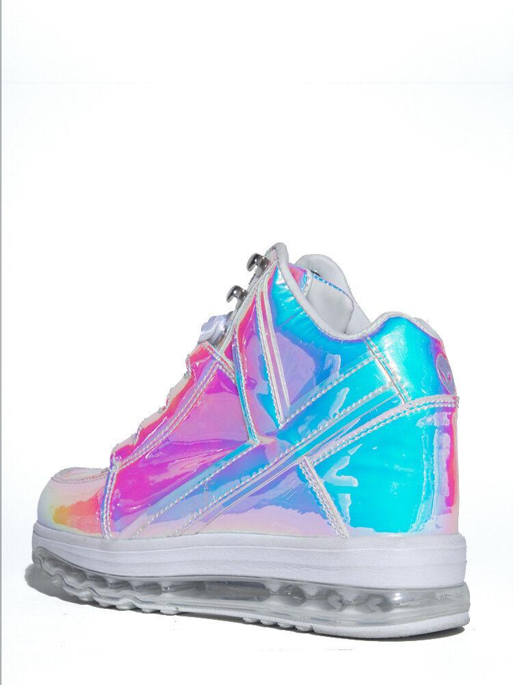 YRU Jeunes Rise Up Qozmo aiire aiire aiire Atlantis Femme Baskets Chaussures Chaussures Punk Goth a4ee80