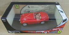 Hot Wheel Ferrari 166 MM Barchetta Millemiglia Convert Red Car Die-Cast 1:18 NEW