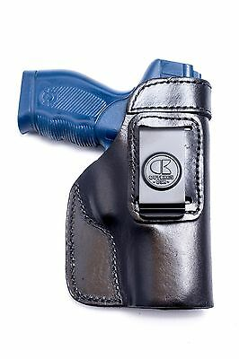 Taurus PT 24/7 9mm | Full Grain Leather IWB Conceal Carry Holster. MADE IN USA