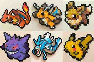 Pokemon Sun Moon Menu Icon Mini Bead Sprites Perler Artkal Pixel Art Retro Ebay Below is a list of 10 pokemon templates from friendsh. details about pokemon sun moon menu icon mini bead sprites perler artkal pixel art retro