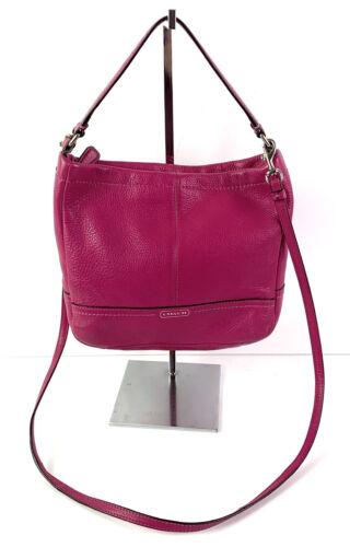 Coach Park Handbag Bright Pink Magenta Crossbody B