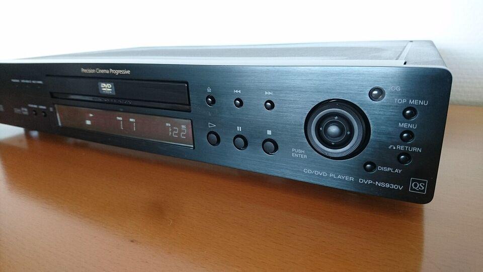 DVD/Super Audio CD, Sony, DVP-NS930QS