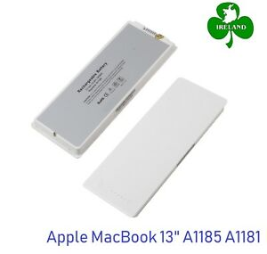 New-Laptop-Battery-for-Apple-MacBook-13-034-13-3-Inch-A1185-A1181-MA566-MA561-White
