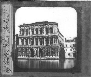 Palazzi-Barbaro-Venice-Venezia-Venecia-palacio-Italia-Italia-fotografia-c1900