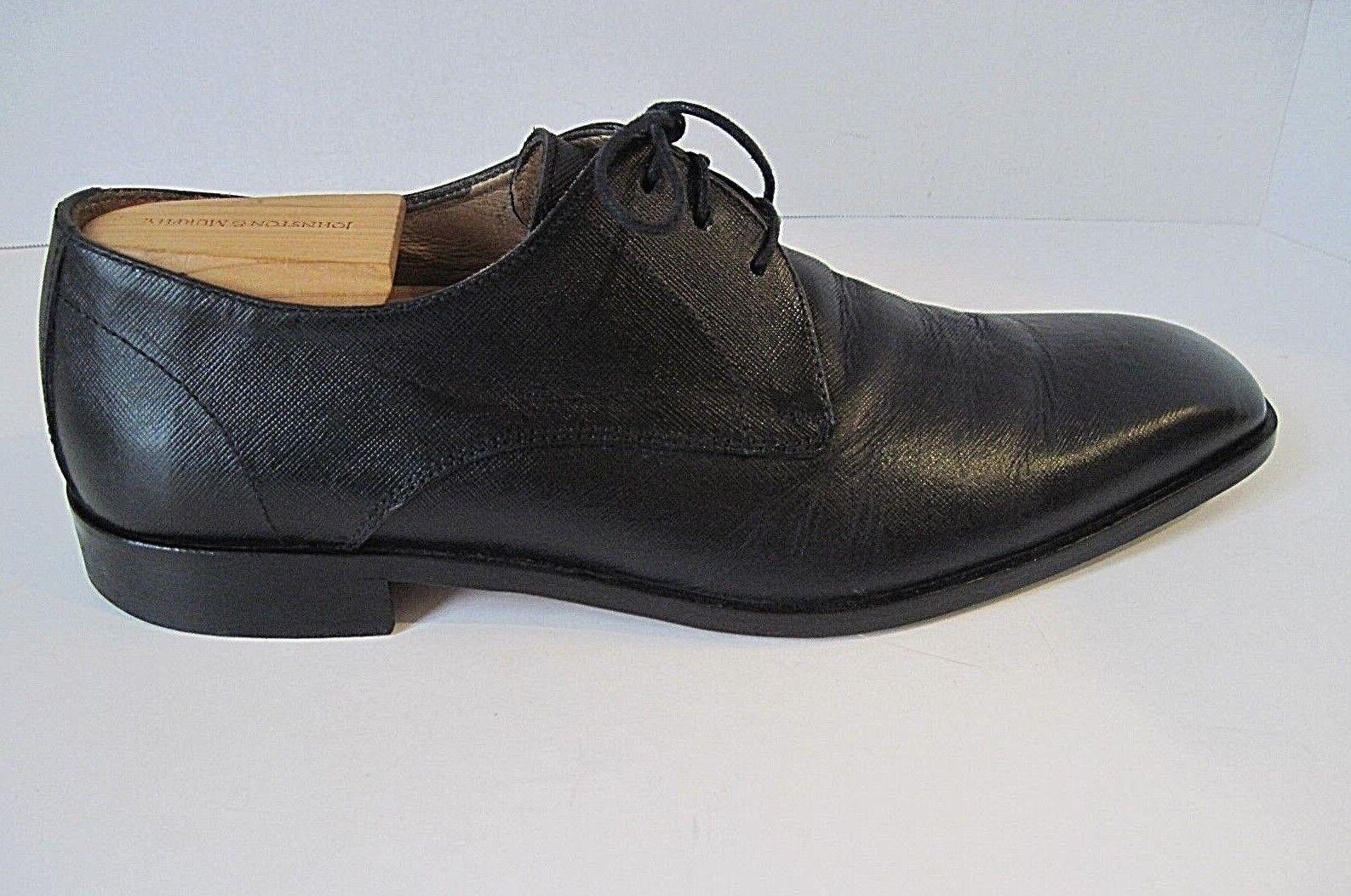 tempo libero Mercanti Fiorentini Uomo nero Leather Leather Leather Oxford Dimensione 9M Made In   conveniente