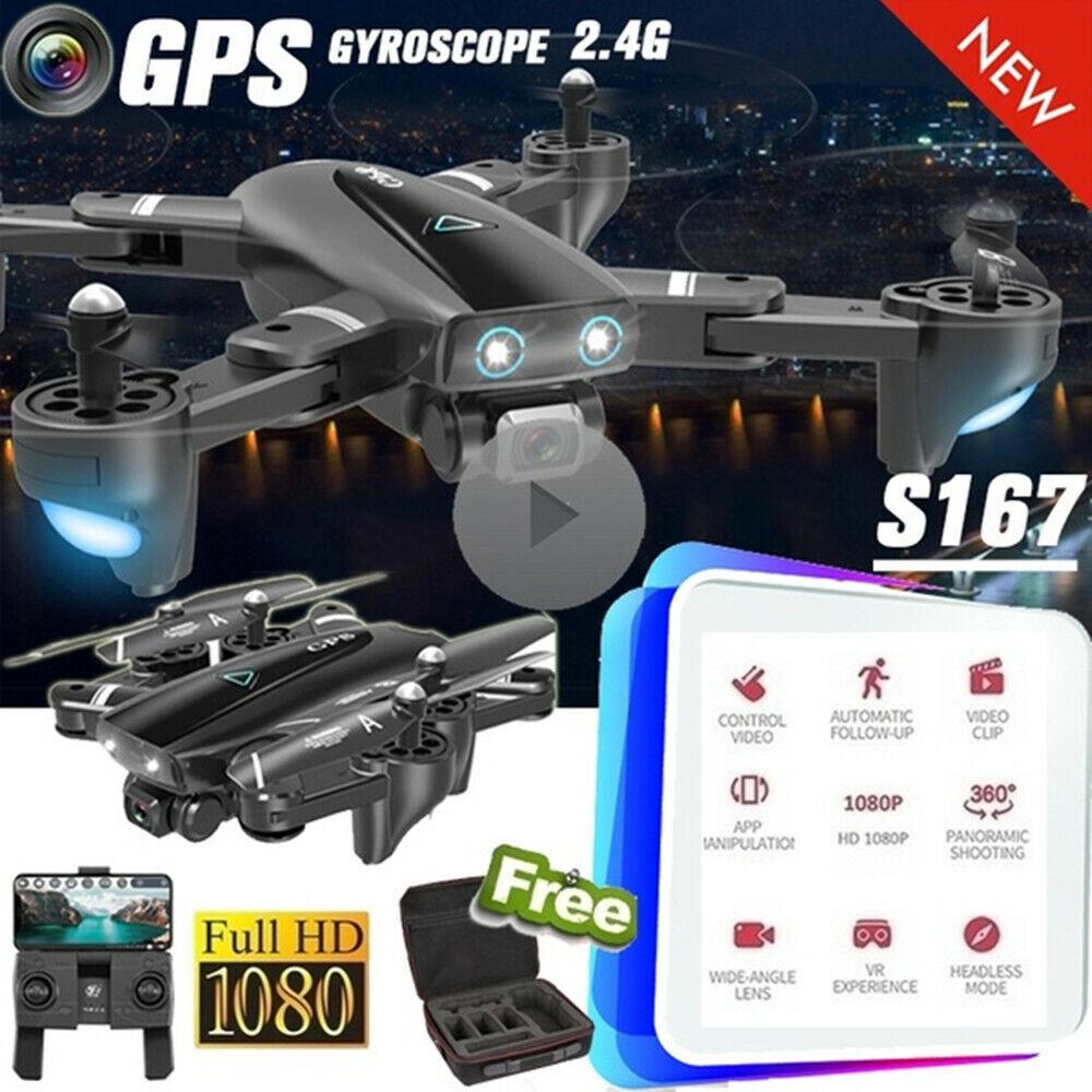 Pieghevole RC Quadcopter Dual telecamera GPS Drohne Xpro 5G  WIFI FPV 1080P HD gP  grandi risparmi