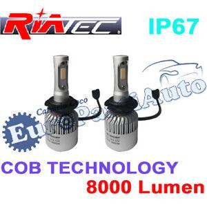 KIT-2-LAMPADE-LED-ANABBAGLIANTI-ABBAGLIANTI-COB-MOD-H4-8000LM-SUPERLUMINOSO