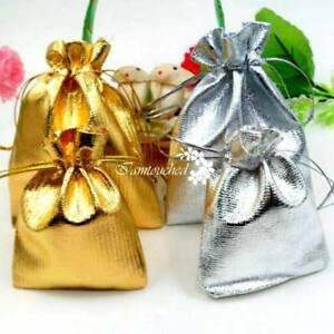 Image Is Loading 400pcs Luxury Organza Sweet Candy Gift Bags Wedding