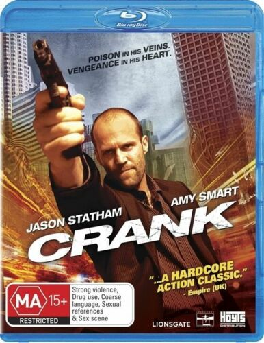 1 of 1 - Crank (Blu-ray, 2009)