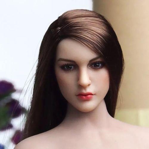 USA 1:6 TBLeague PHICEN  Seamless Suntan Big breast Female Body //KIMI Heads