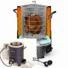 Oilless Turkey Deep Fryer Infrared Outdoor Cooking Portable Gas Stove Grills Fry