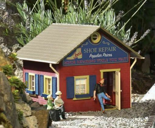 PIKO G SCALE JOE'S SHARE REPLAIR BUILUP62725
