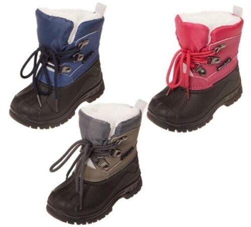 Playshoes Winter Stiefel Schnee Boots gefüttert Mädchen Jungen Kinder Gr.20-29