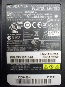 Genuine-Fujitsu-AC-Adapter-FPCAC62W-19V-4-22A-DC-Output