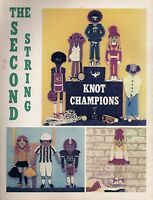 1980s Macrame Sports Champions Wall Hanging Patterns The Second String Pd1183