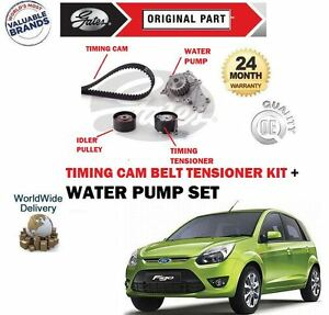 WATER PUMP FORD C-MAX 2.0 TDCi TIMING CAM BELT KIT TENSIONER IDLER PULLEY